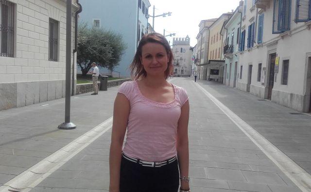 Ylenia Loredan, ki na koprski občini skrbi za turizem, je zadovoljna tudi z jesenskim obiskom mesta z okolico.<br /> Foto Nataša Čepar