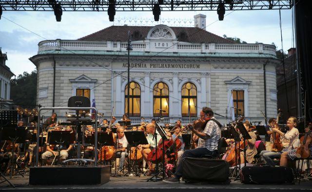Dogodki letošnjega Festivala Ljubljana so mi pomenili še mnogo več, kot mi koncerti običajno pomenijo. Foto Jože Suhadolnik/Delo