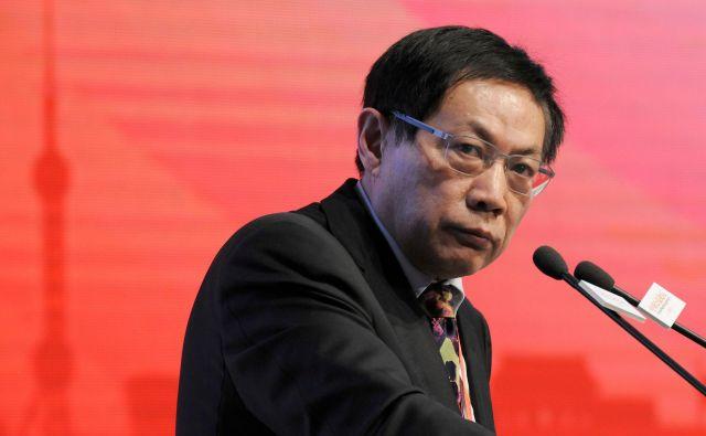 Ren je sicer doslej večkrat kritiziral oblast, zaradi česar je dobil vzdevek »Rdeči Top«.FOTO: China News Service/AFP