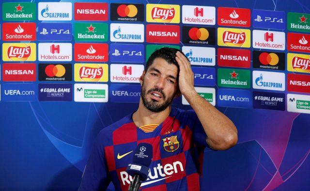 Luis Suarez v zadnjem obdobju nima mirnega spanca. FOTO: Albert Gea/Reuters