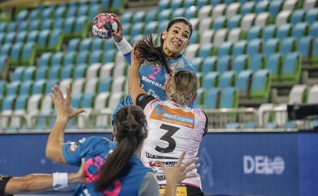 Samara da Silva Vieira je najboljša strelka Krima s 17 goli na dveh tekmah. FOTO: Blaž Samec