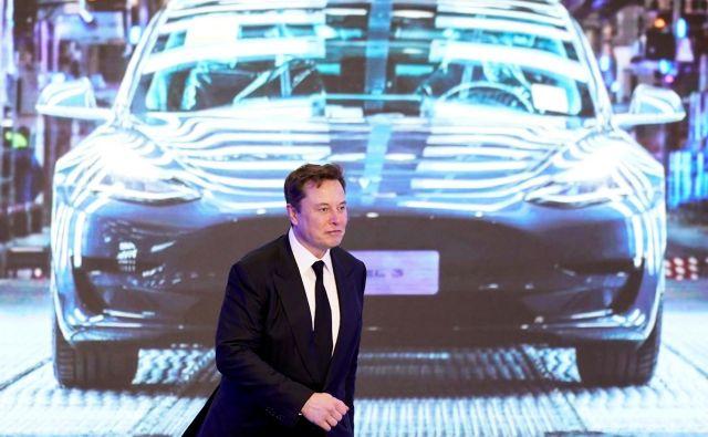 Elon Musk, Tesla: Za cenejšo baterijo potrebujemo še tri leta.<br /> FOTO: Aly Song/Reuters