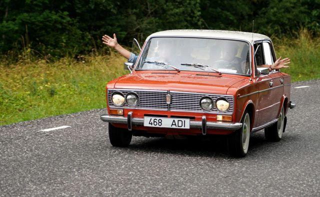 Lada na praznovanju 50. obletnice letos julija v Estoniji<br /> Foto Janis Laizans/Reuters