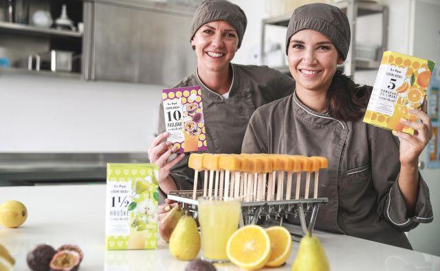 V izdelkih La Popsi so vitamini iz 100% sadja, brez konzervansov, sladkorja in barvil FOTO: aljosarebolj.com