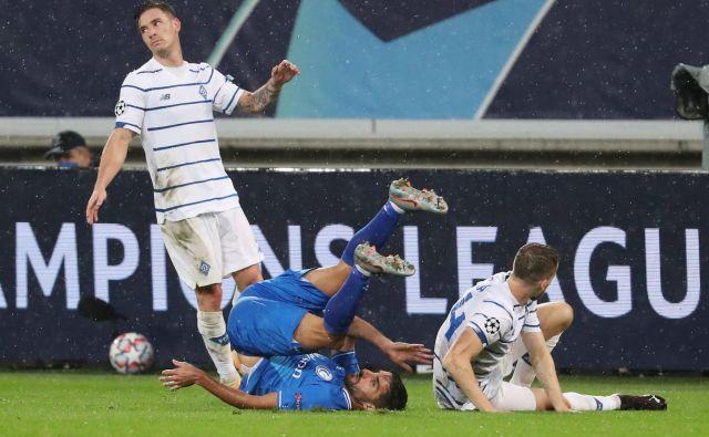 Benjamin Verbič je v igro vstopil sredi drugega polčasa. FOTO: Yves Herman/Reuters