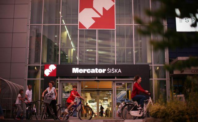 Skupina Mercator je kljub epidemiji povečala prihodke. FOTO: Jure Eržen/Delo