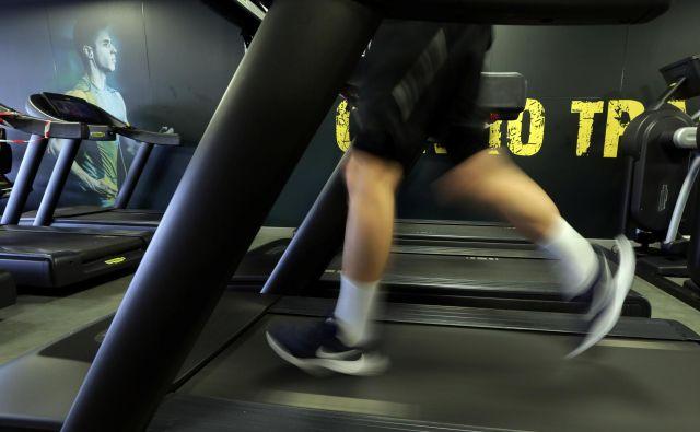 Slovenska fitnes iniciativa si prizadeva, da se zaprtje fitnesov ne bi ponovilo jeseni. FOTO: Eric Gaillard/Reuters