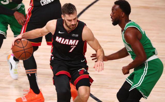 »Moštvo je povsem osredotočeno na dvoboj z Bostonom,« je poudaril Goran Dragić, eden od najmočnejših orožij Miamija na poti do velikega finala v najmočnejšem klubskem košarkarskem tekmovanju. FOTO: Kim Klement/USA TODAY Sports