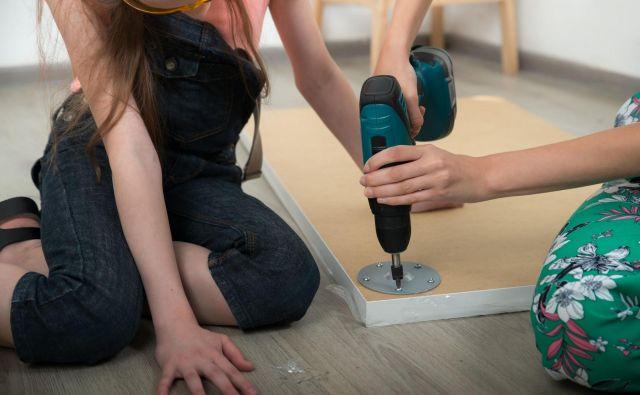 Bein prvi projekt je bila prenova materine pisarne. FOTO: Juta/Shutterstock