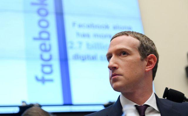 Facebookov prvi mož Mark Zuckerberg FOTO: Erin Scott/Reuters