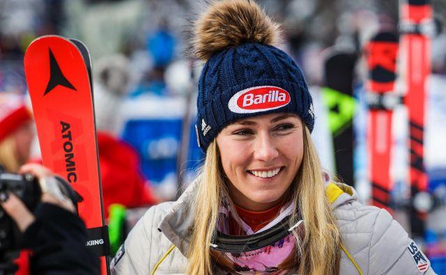Američanka Mikaela Shiffrin je prva zvezdnica alpskega smučanja. FOTO: Sergei Belski/Usa Today Sports