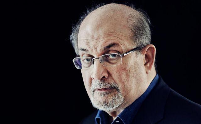 Salman Rushdie, s smrtjo za petami Foto Tv Slo