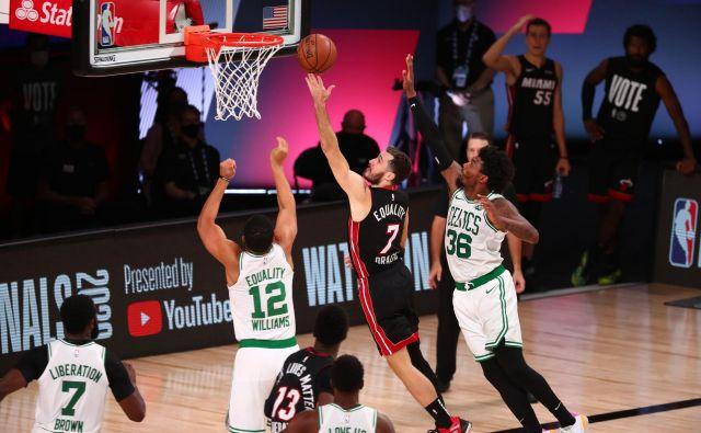 Goran Dragić je pripeljal Miami Heat do finala najmočnejše košarkarske lige na svetu. FOTO: Kim Klement/Usa Today Sports