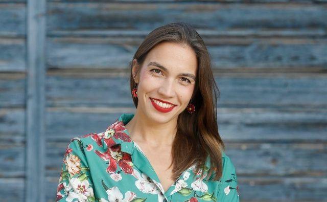 Klara Kastelec, zmagovalka natečaja Onina zgodba 2020 FOTO: Blaž Samec