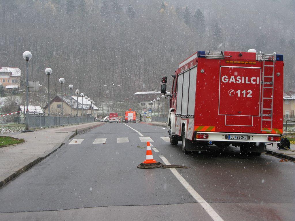 Ni odškodnin za ranjene gasilce