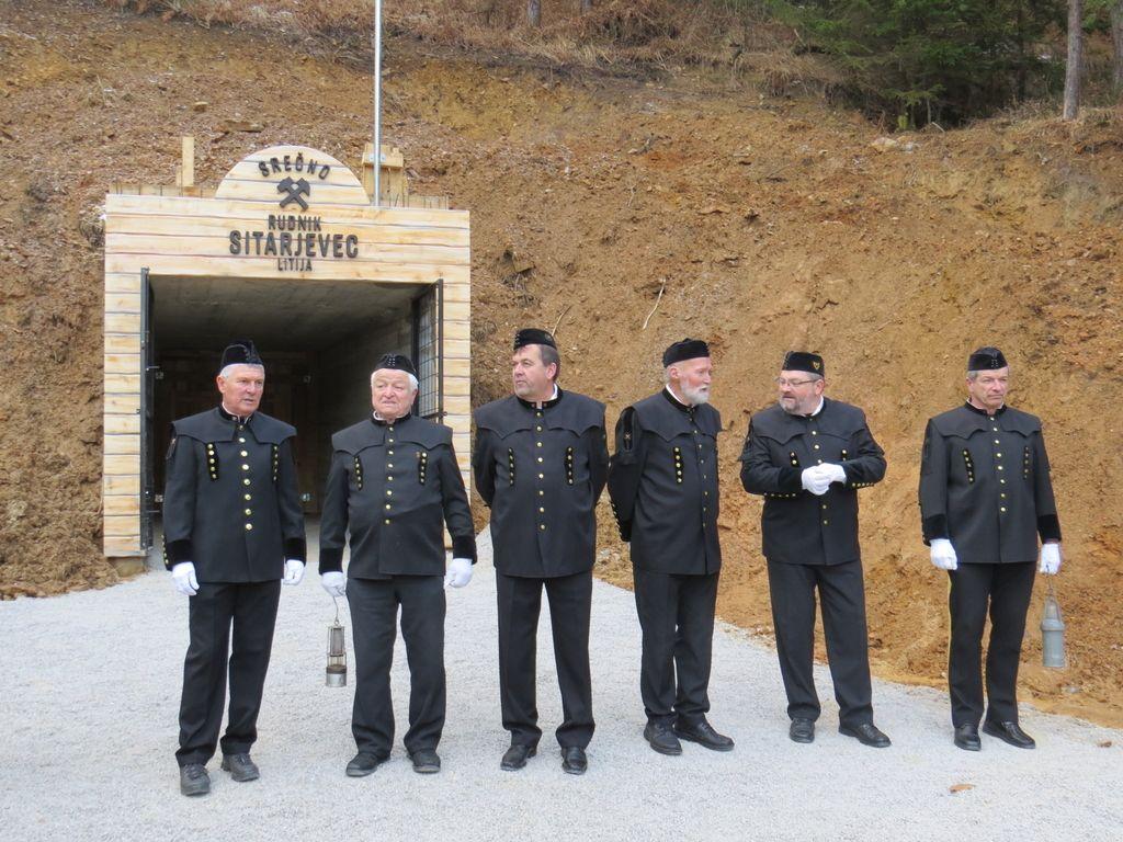 Odprli del rudnika Sitarjevec v Litiji