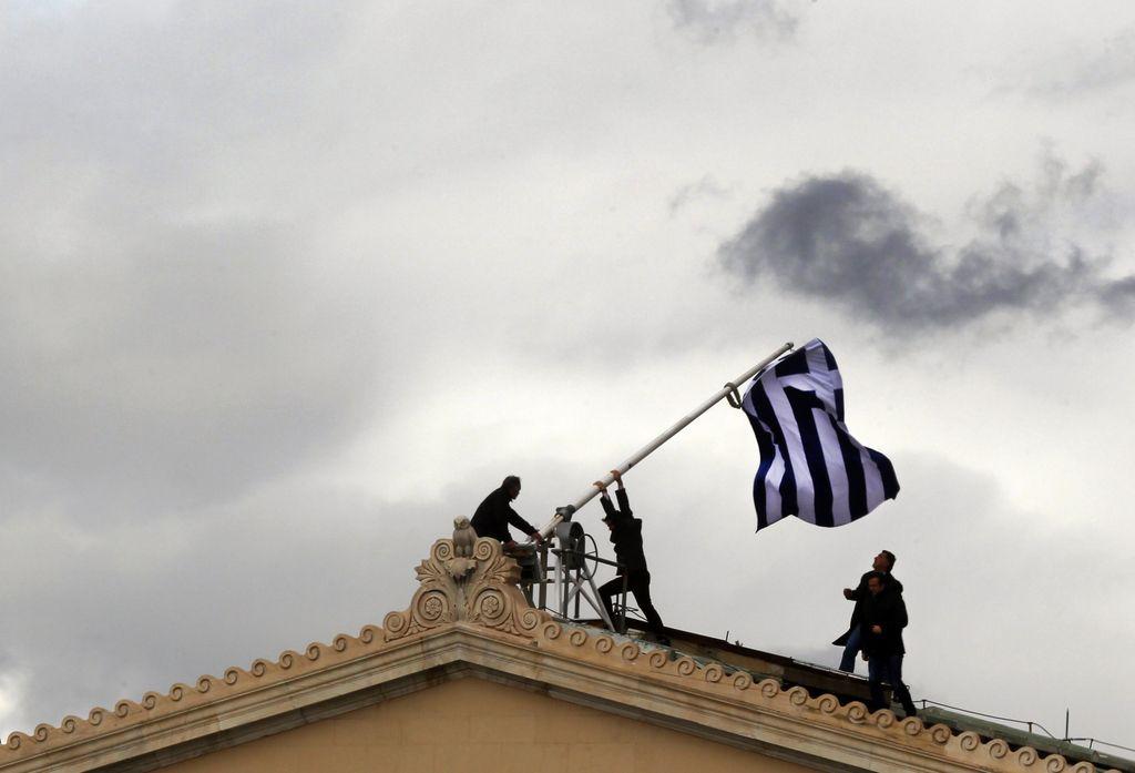 Grčija na poti do  finančne neodvisnosti