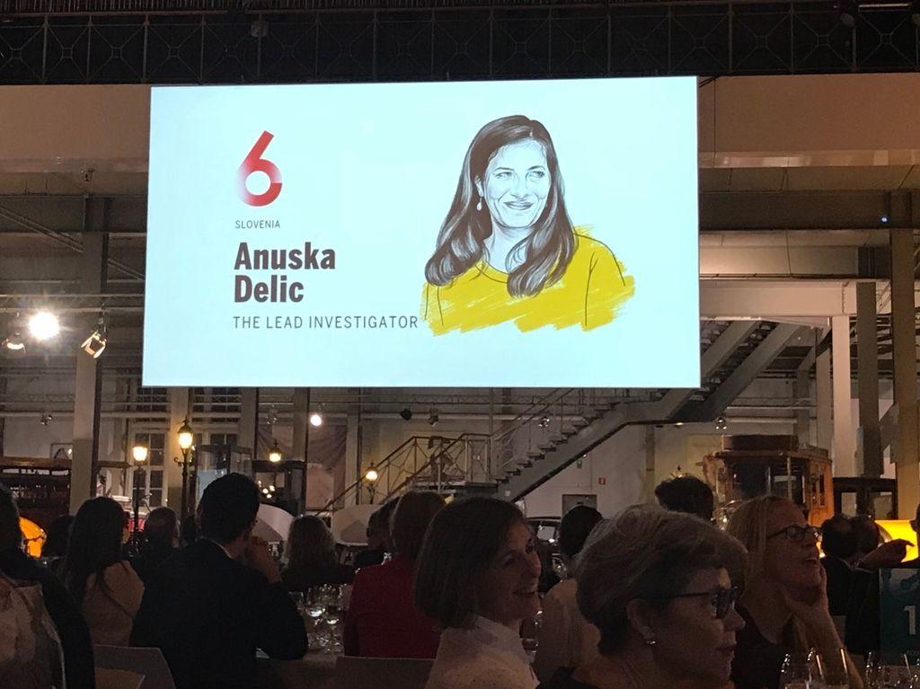 Med najvplivnejšimi tudi Anuška Delić