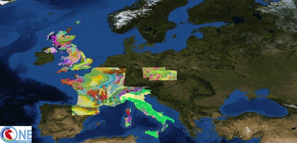 Geoloska Karta Sveta Prvic Na Enem Mestu