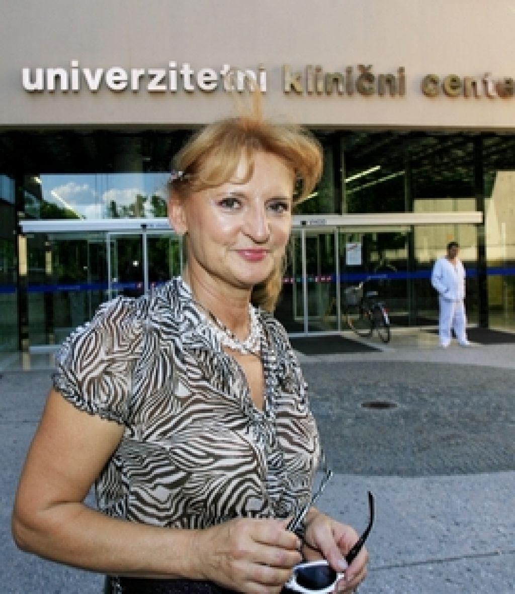 Sodišče zavrnilo tožbo Žvanove proti UKC Ljubljana
