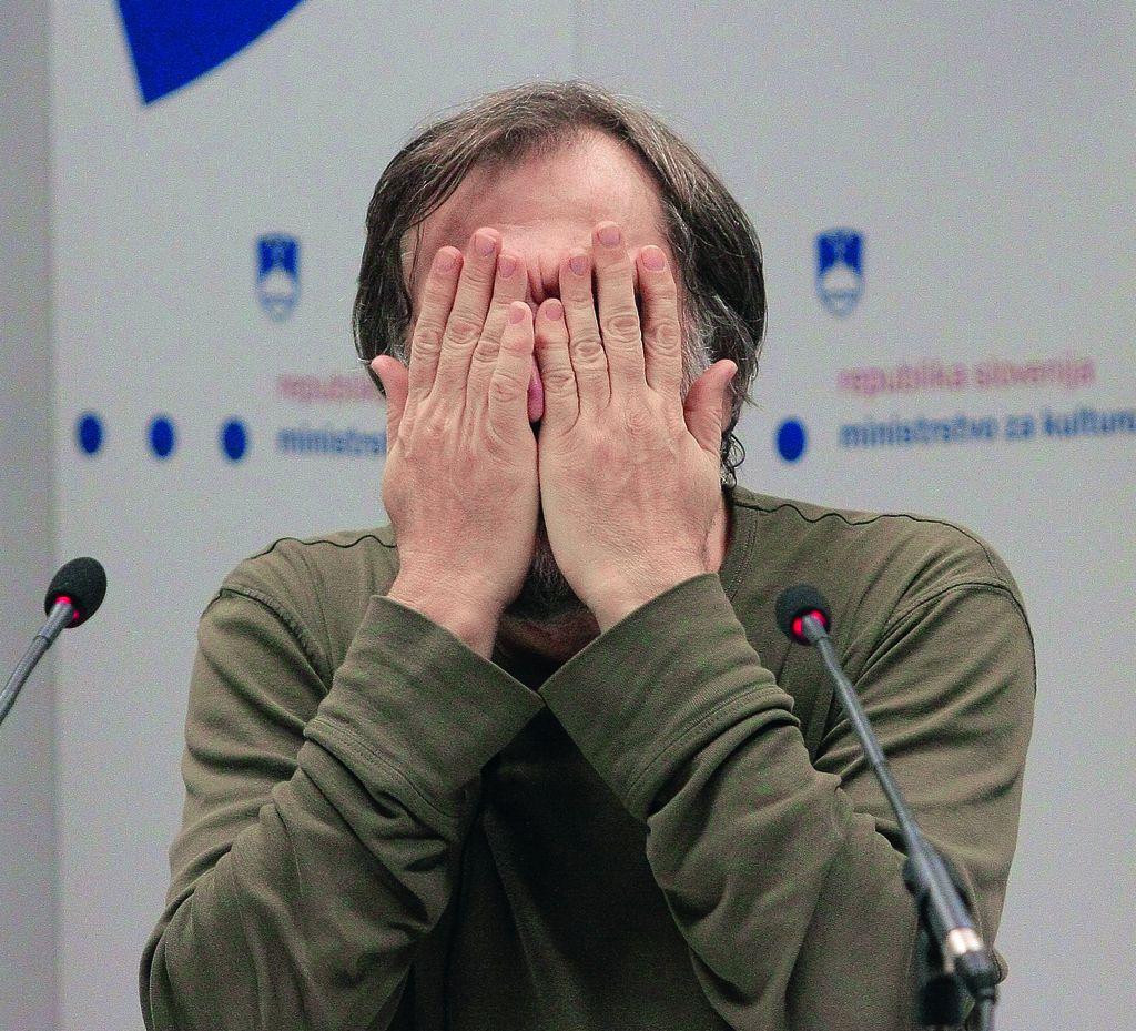 Slavoj Žižek: Ne polagati upanja v kulturo!
