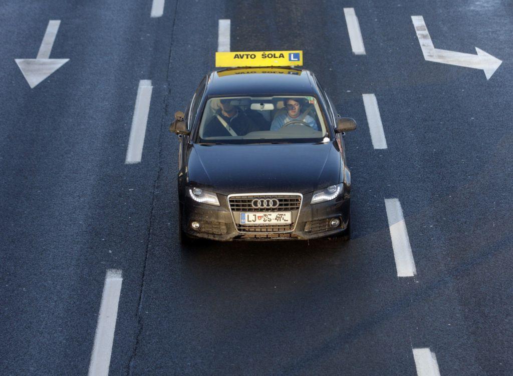 Avtošoli in inštruktorjem pogojne kazni