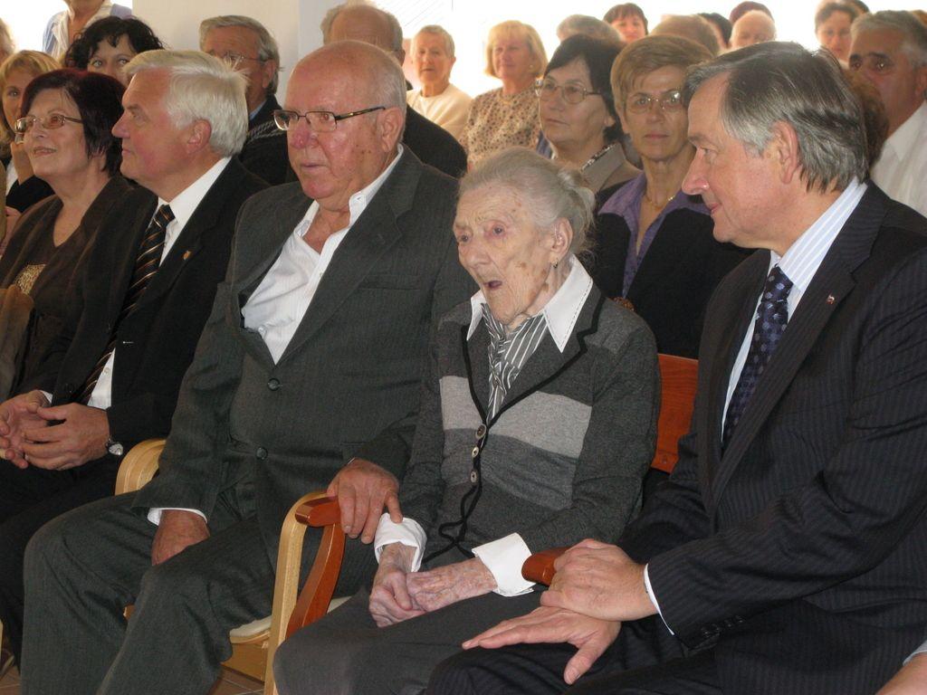 Umrla je Katarina Marinič, najstarejša Slovenka