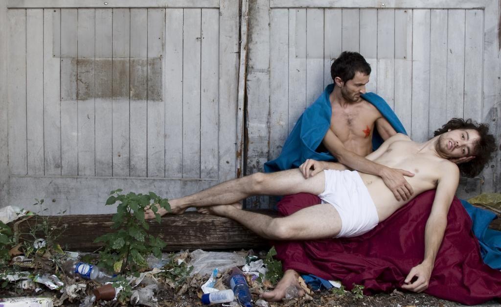 Predstava Amado mio na čilenskem gledališkem festivalu Santiago a Mil