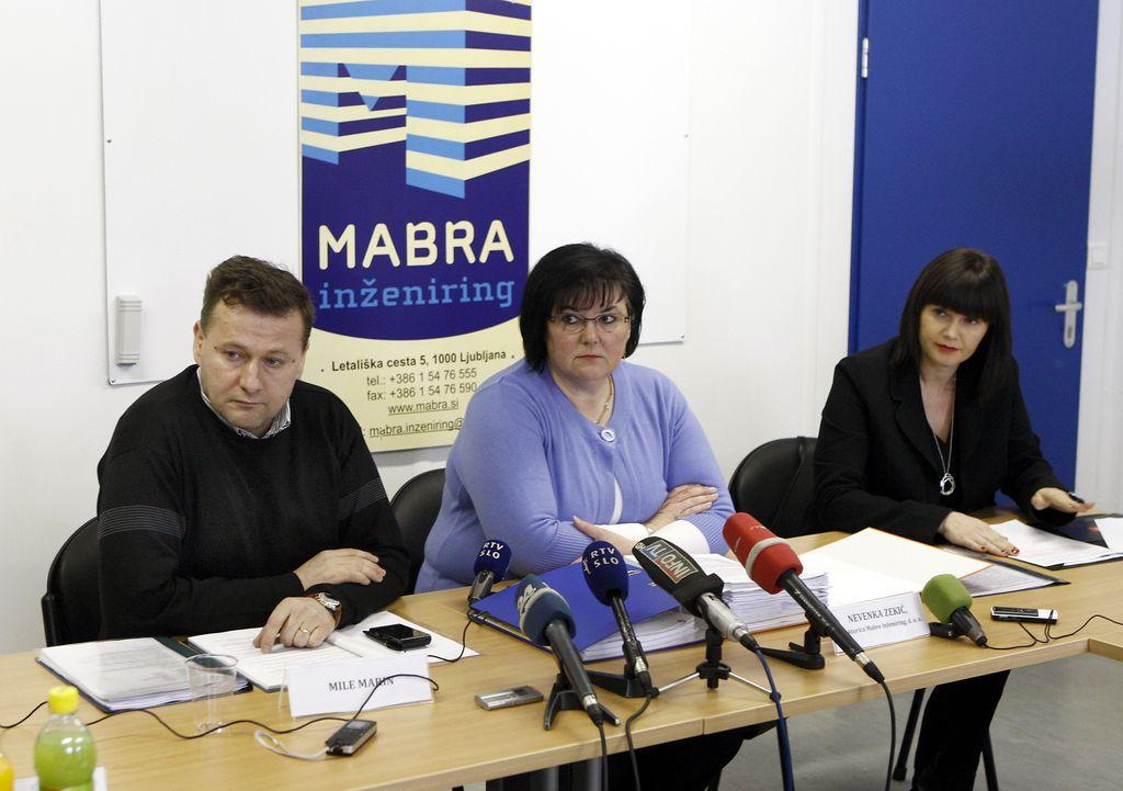 Zastopnica podjetja Mabra od države pričakuje 4,1 milijona