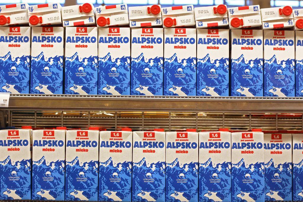 Slovenskim mlečnim izdelkom odprta vrata na Kitajsko