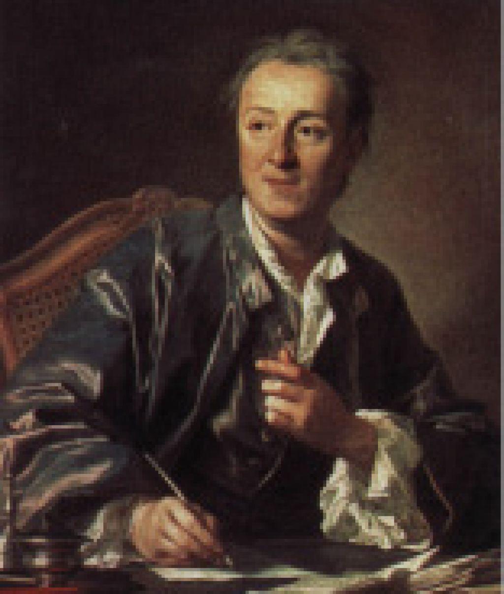 Denis Diderot: človek kot »sveženj vlaken«?