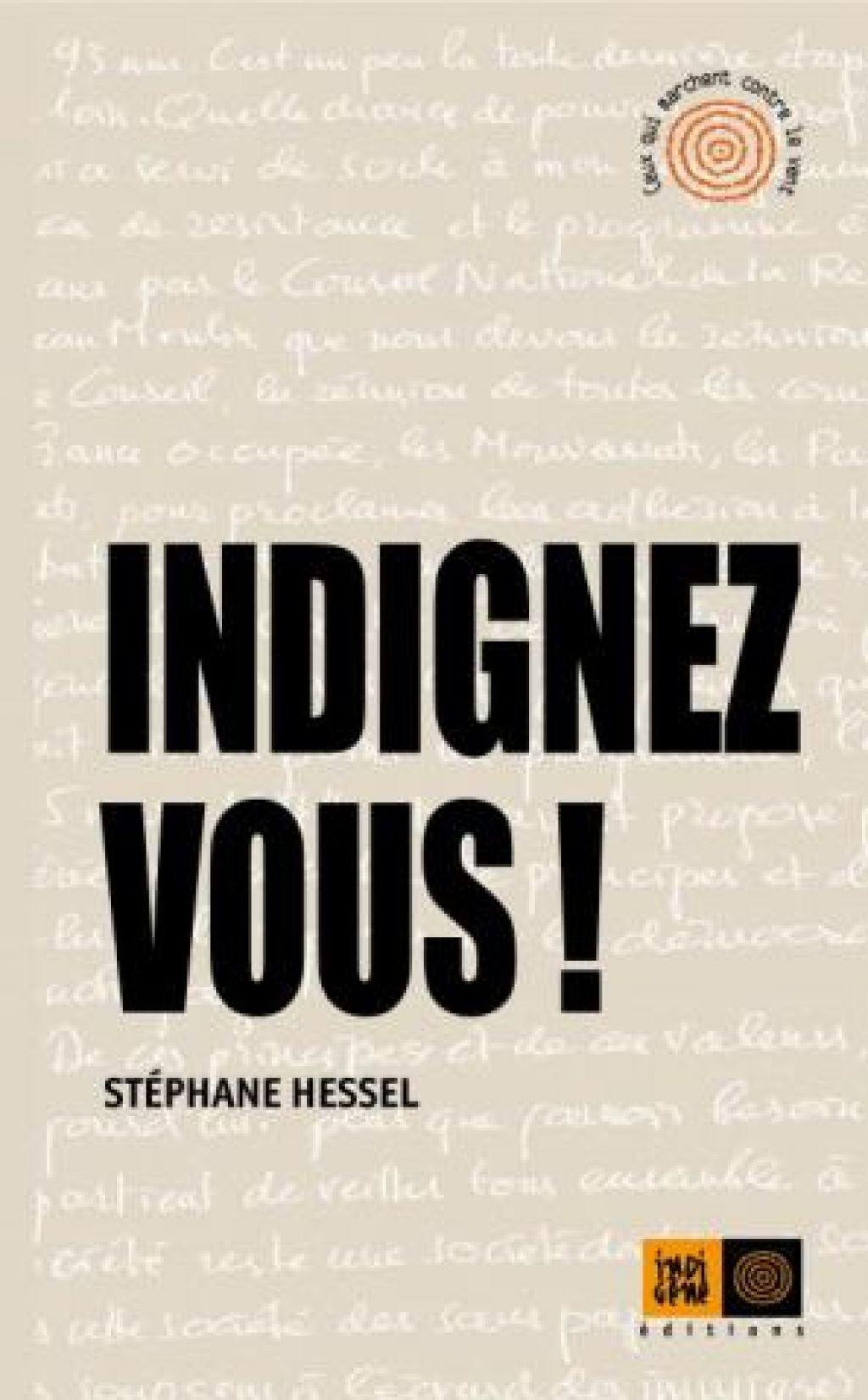Odmevna knjiga Stéphana Hessela: Dvignite se!