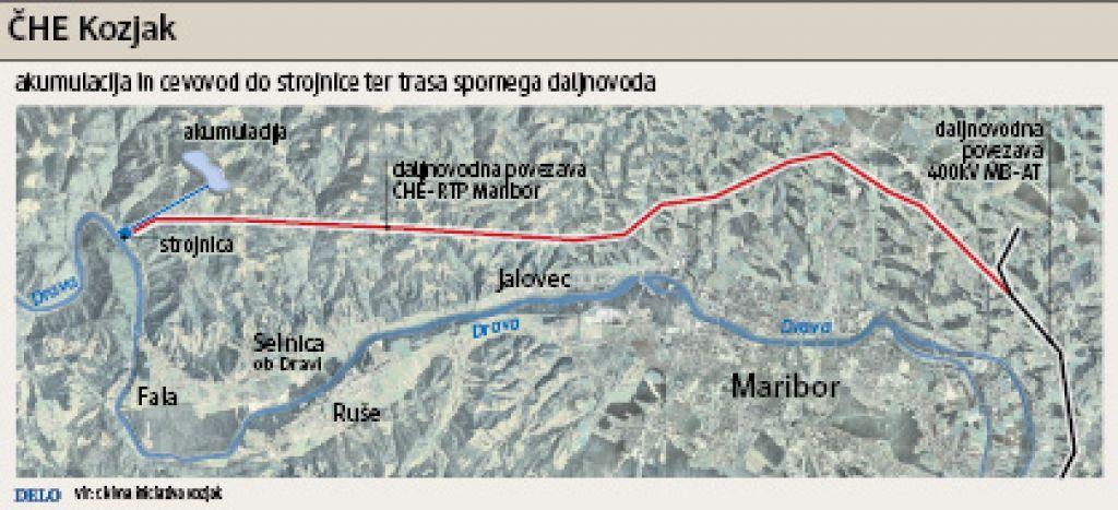 Civilna iniciativa še vedno nasprotuje hidroelektrarni Kozjak