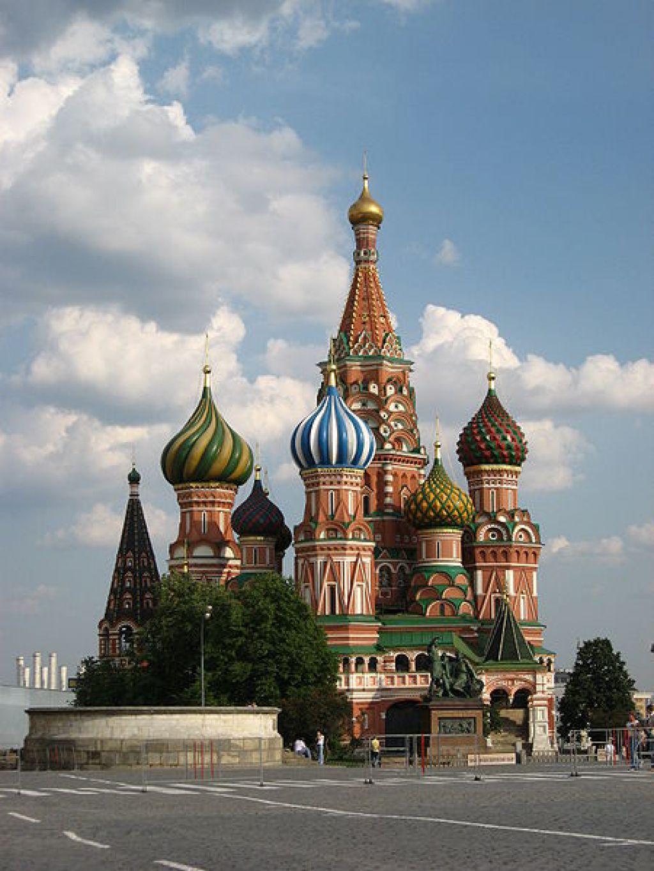 Moskovska katedrala, zaradi katere je bil njen arhitekt ob vid