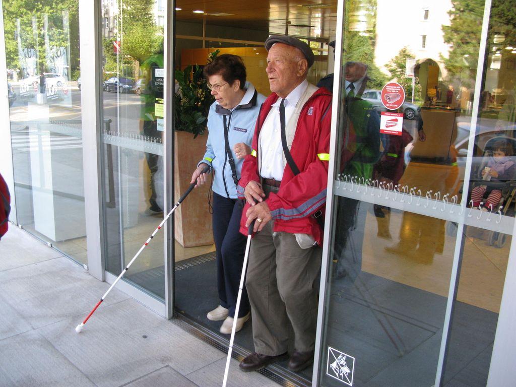 Projektanti v Novi Gorici bodo morali bolj prisluhniti slepim