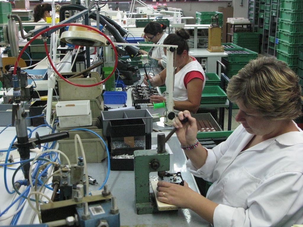 Konkurenčnost slovenske industrije pod evropskim povprečjem
