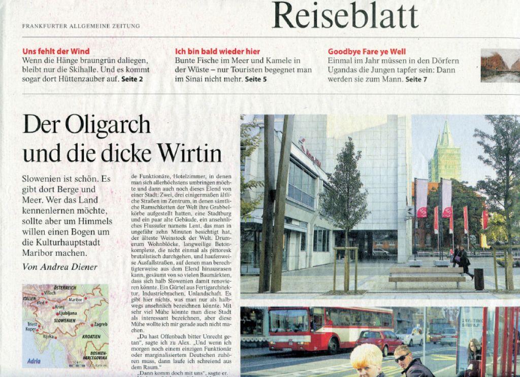 EPK 2012 v tujem tisku: bedno mesto z italijanskim vzdušjem