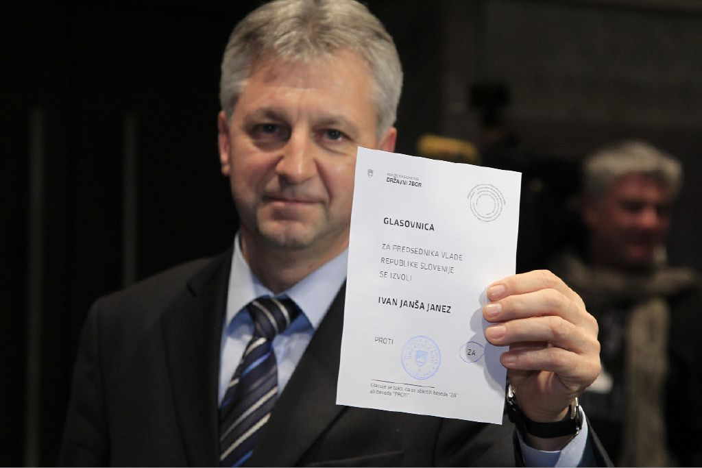 Predsednik vlade Ivan ali Janez Janša?