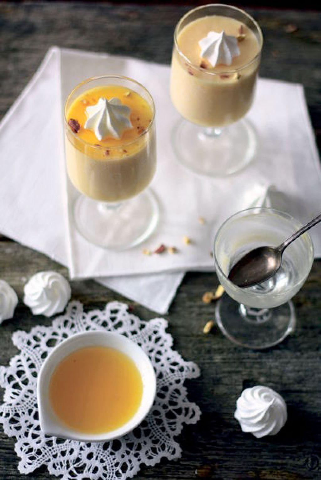 Četrtkov recept: pomarančni mousse s sirupom
