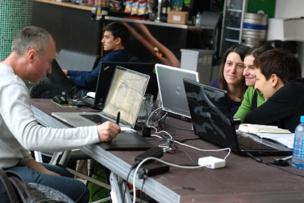 »Sodelajo« v največji ljubljanski pisarni