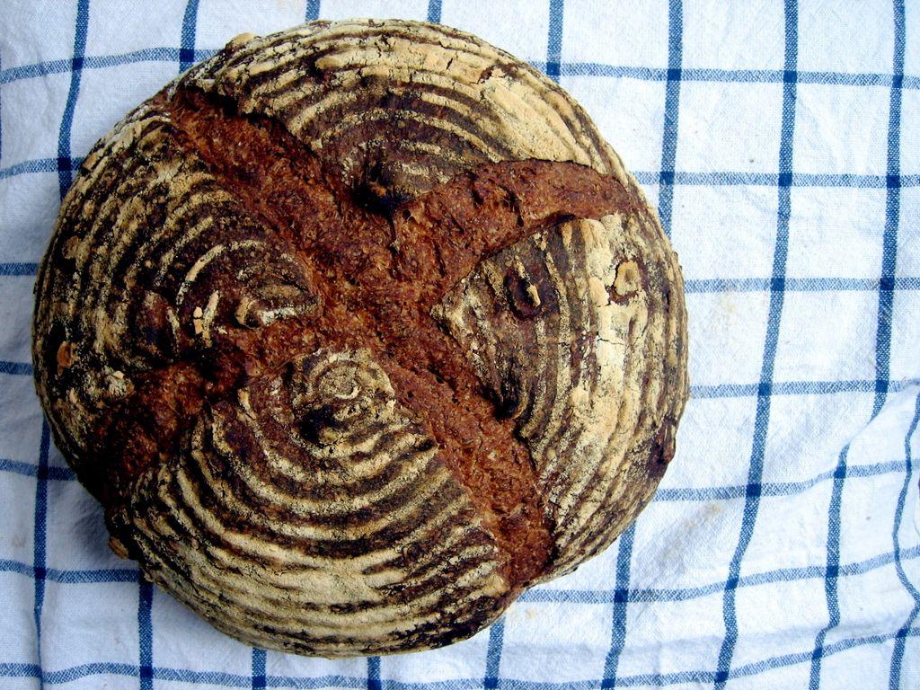 Poletovi recepti: Rženi kruh