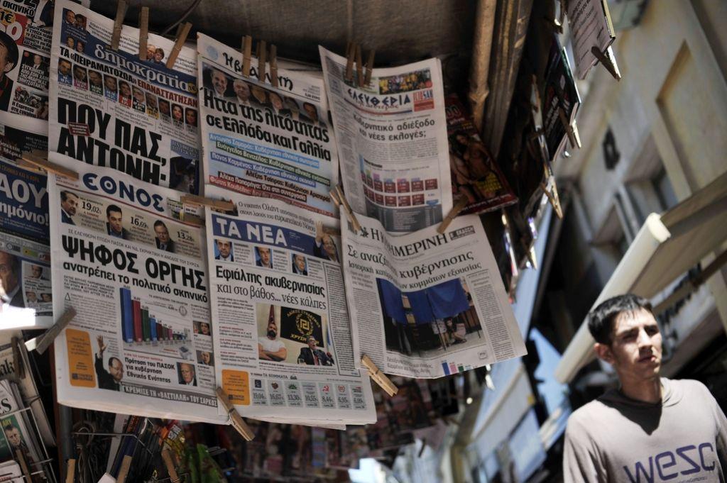 Grčiji grozijo predčasne volitve