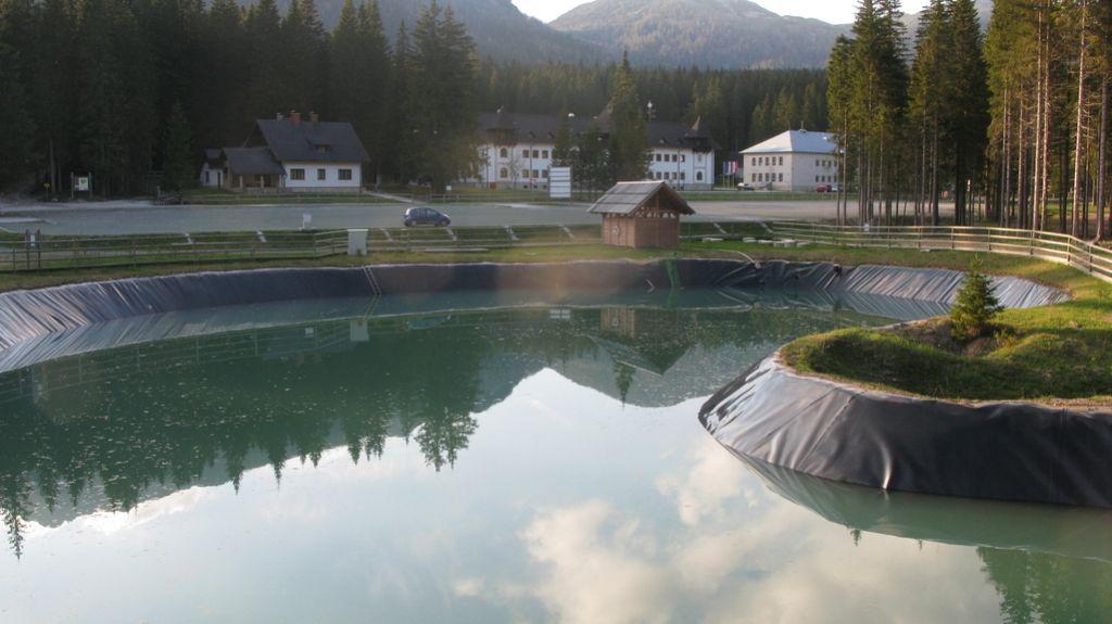 Akumulacijski bazen na Pokljuki je črna gradnja