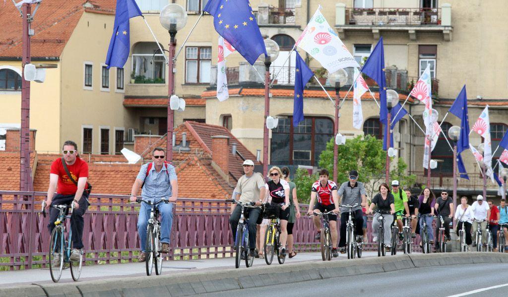 Naj kolesarska občina je Mestna občina Maribor