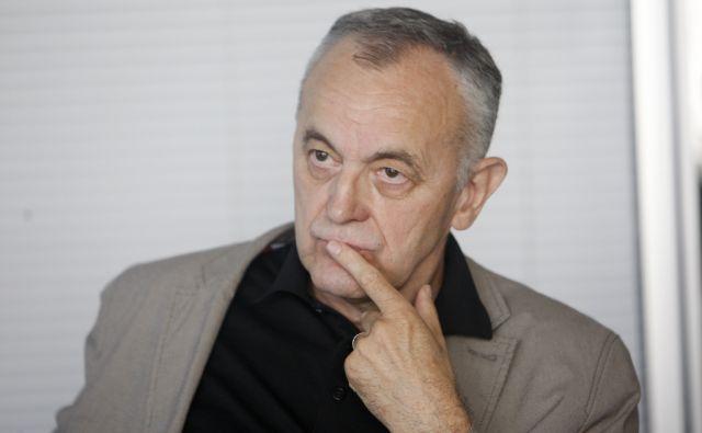 Slovenija, Ljubljana, 23.05.2012. Zdenko KODRIC, veliki finalist literarne nagrade Kresnik. Foto: Uros HOCEVAR/Delo