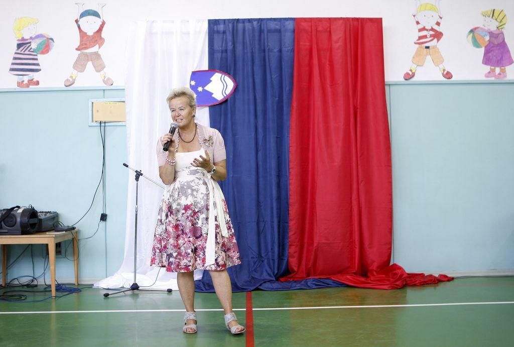 Angelca Likovič vložila kandidaturo za predsednico