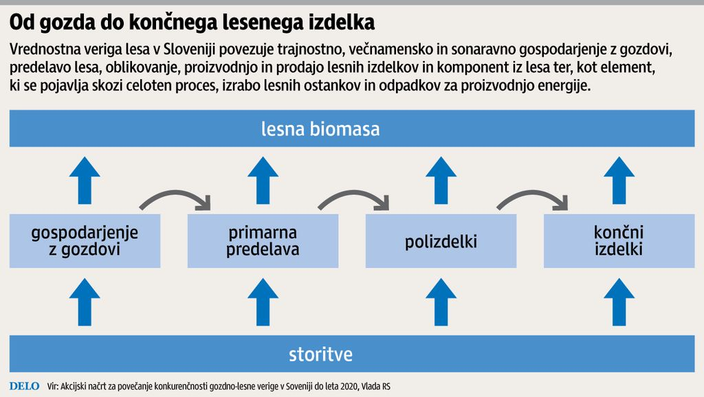 Tudi v Evropi iščejo rešitev za lesno panogo