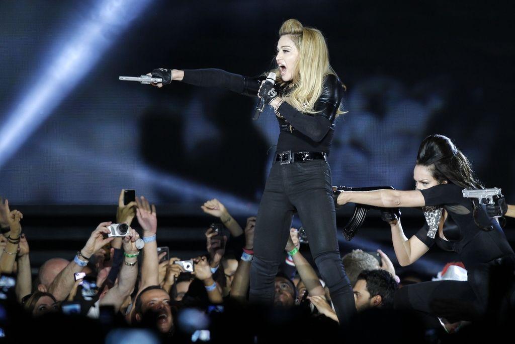 Francoska skrajna desnica bo tožila Madonno