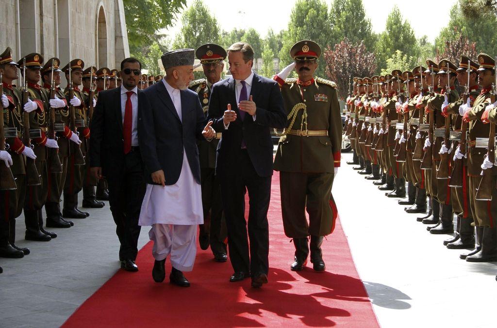 Britanija Afganistanu vrnila dve toni ukradenih starin