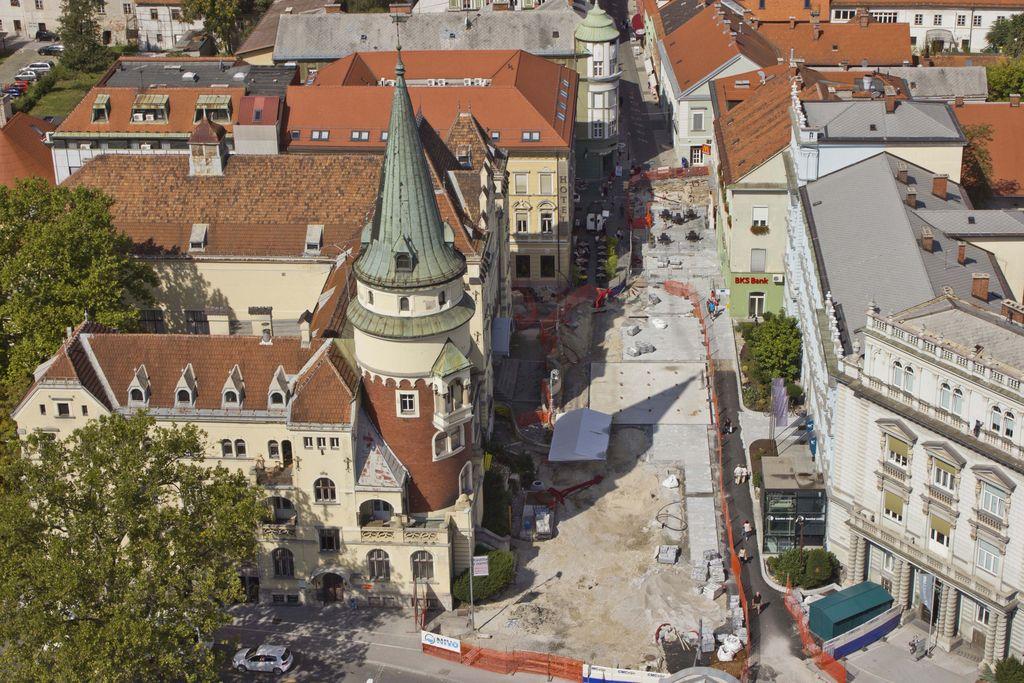 Mesto lahko še dolgo ostane razkopano